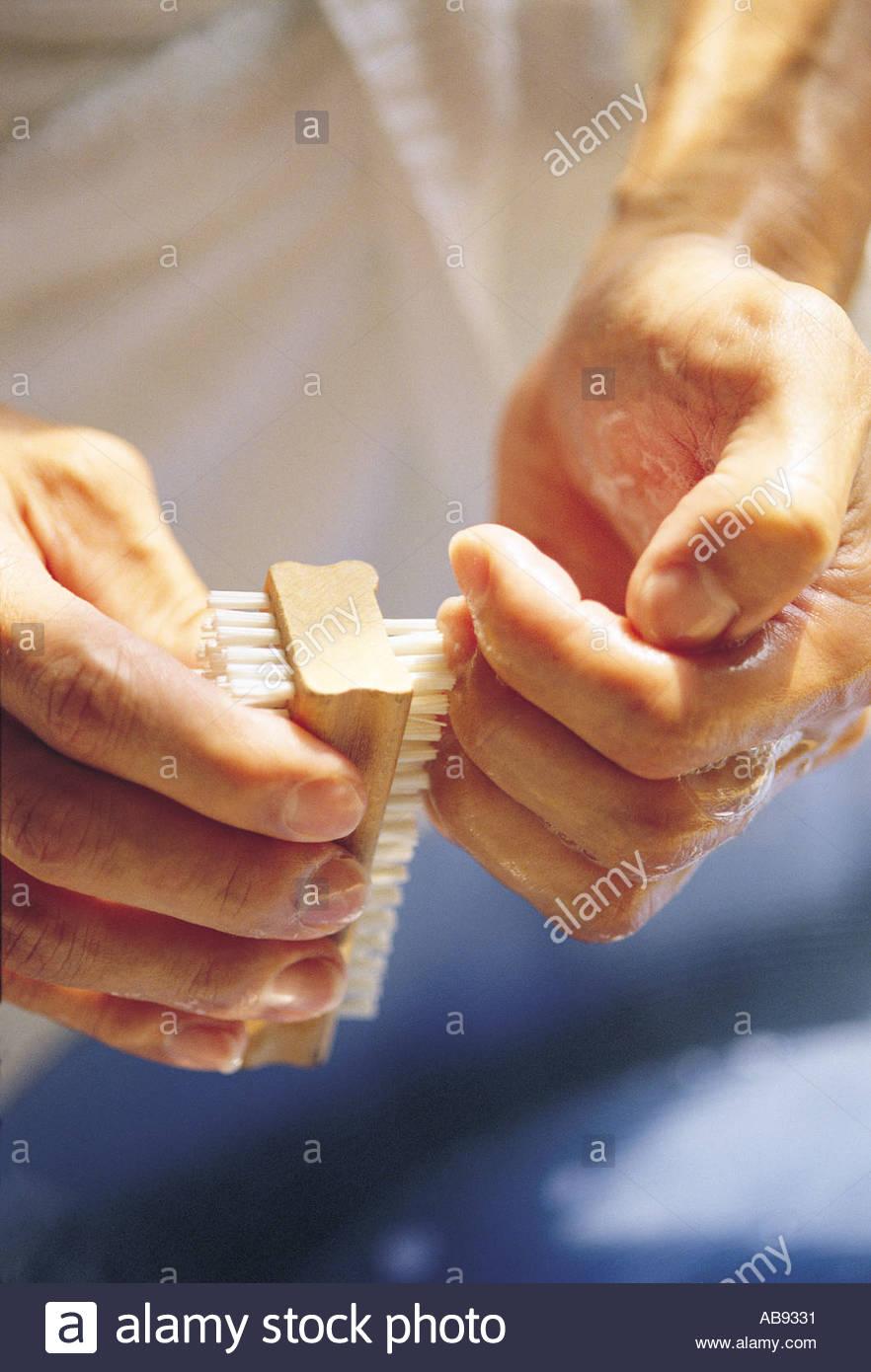 Clean Fingernails Stock Photos Images
