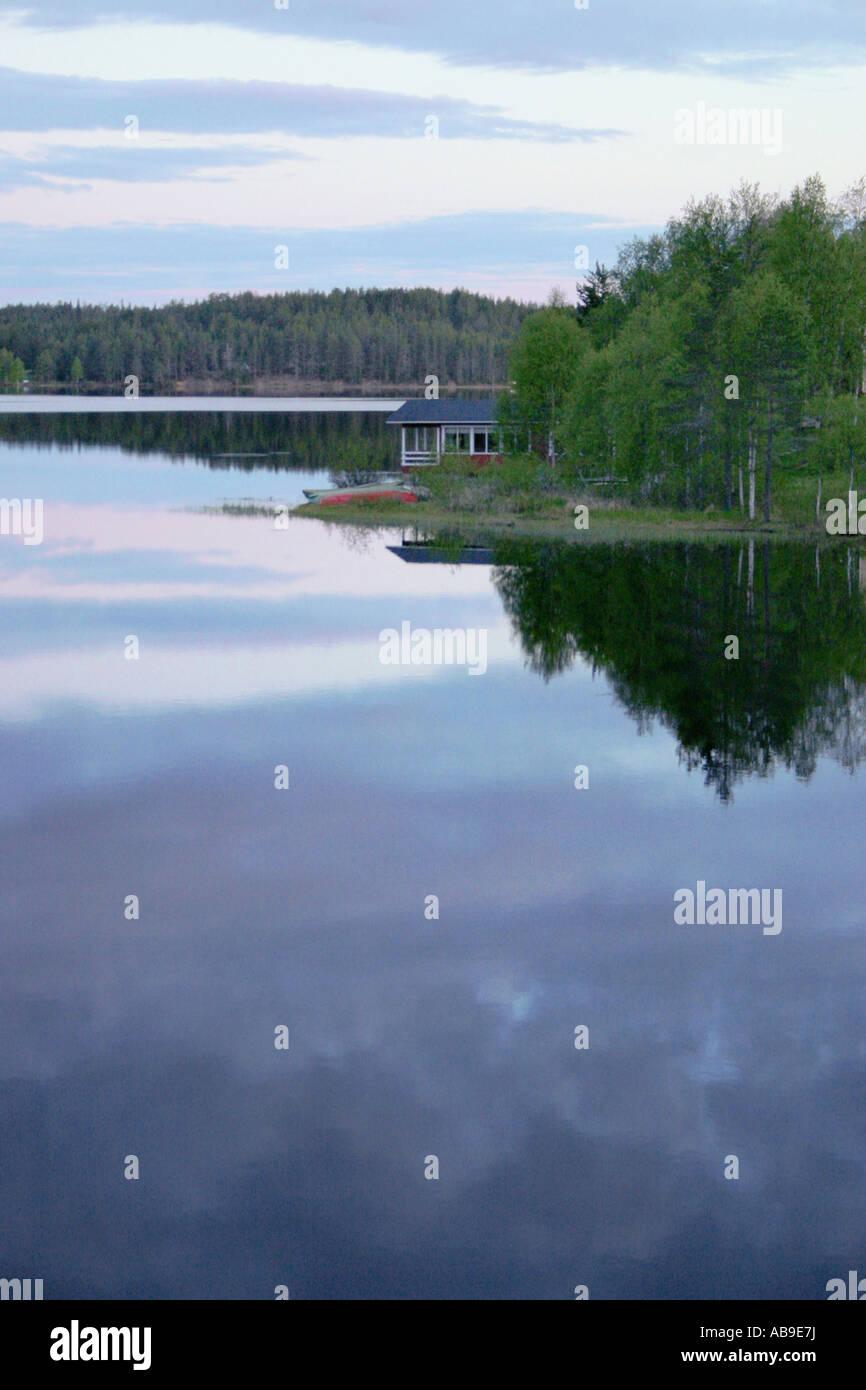 Summerhouse in Juuma, Finland, Oulu, Kuusamo - Stock Image