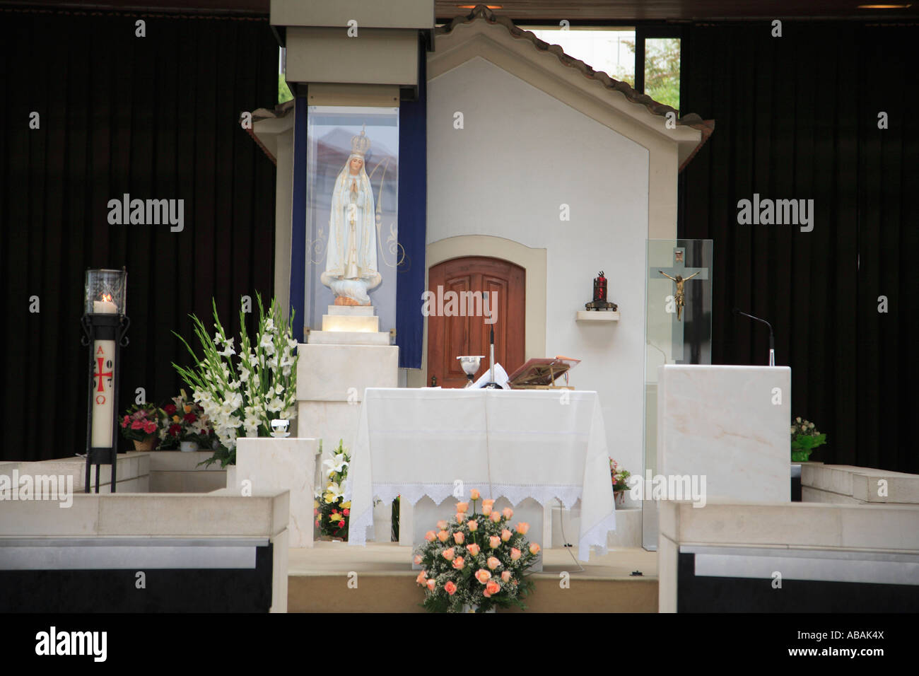 Portugal Fatima Chapel of the Apparitions Stock Photo - Alamy