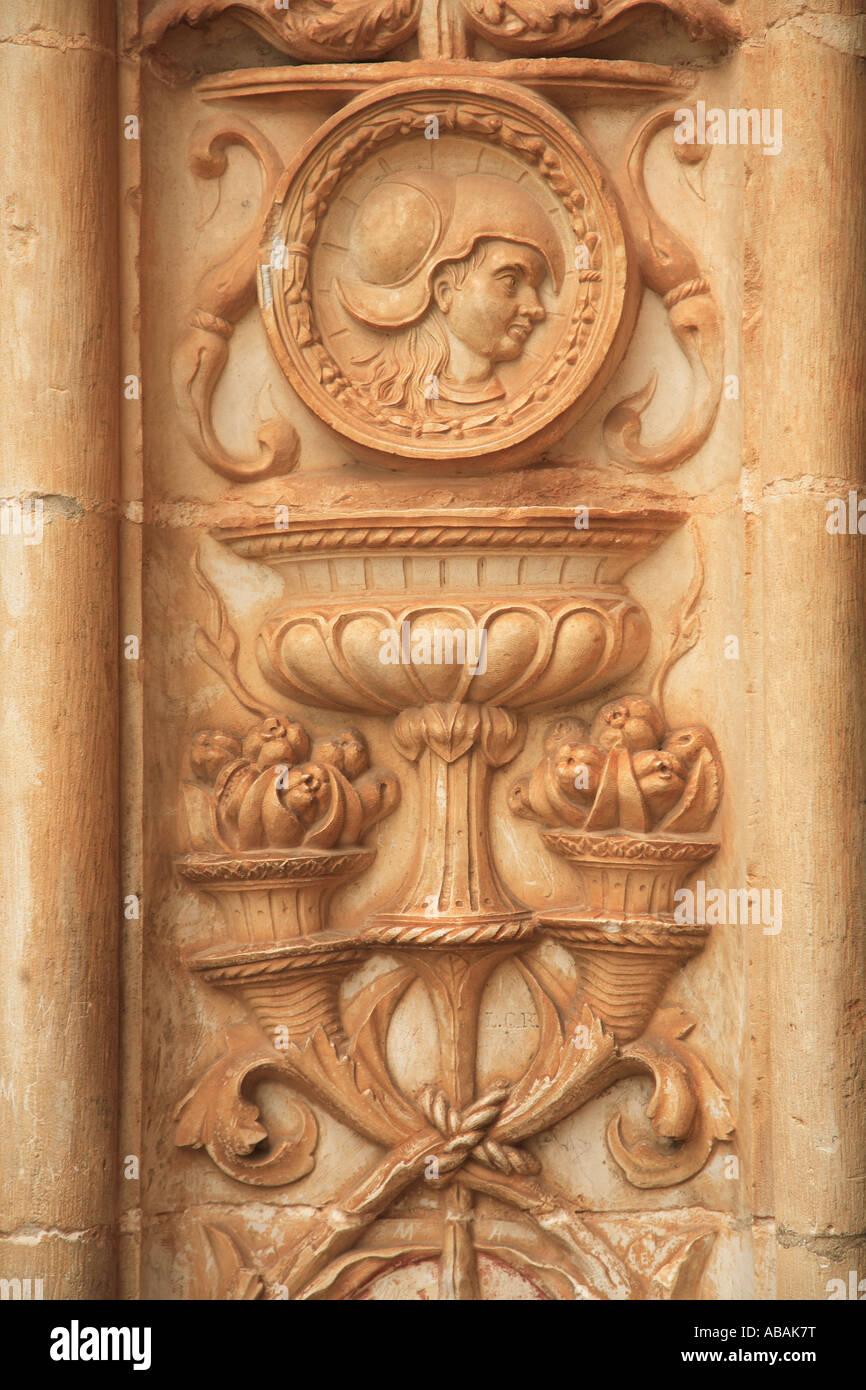 Portugal Ribatejo Tomar Convento de Cristo convent Knights Templar s headquarters - Stock Image