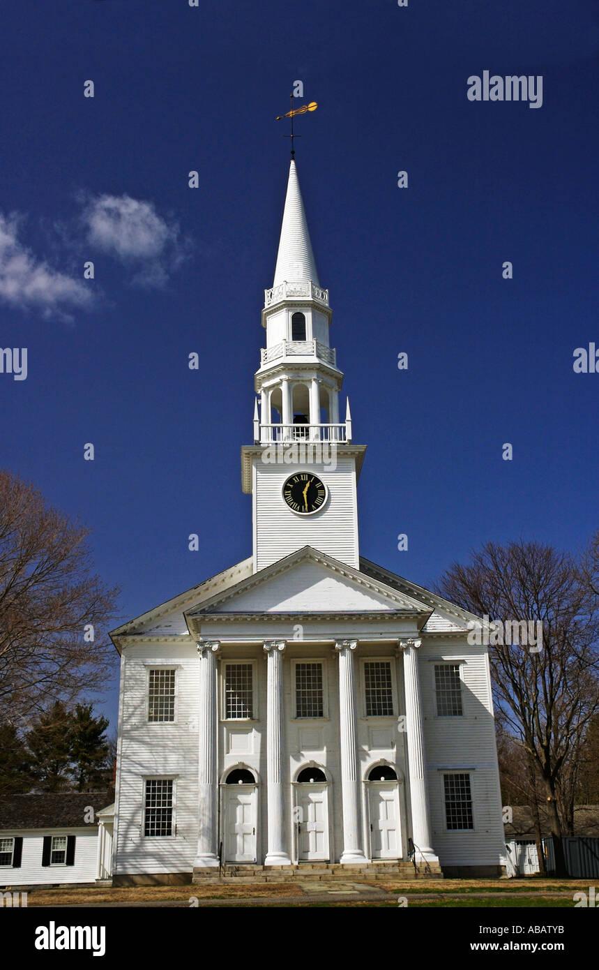 Connecticut, Litchfield, Congregational Church - Stock Image