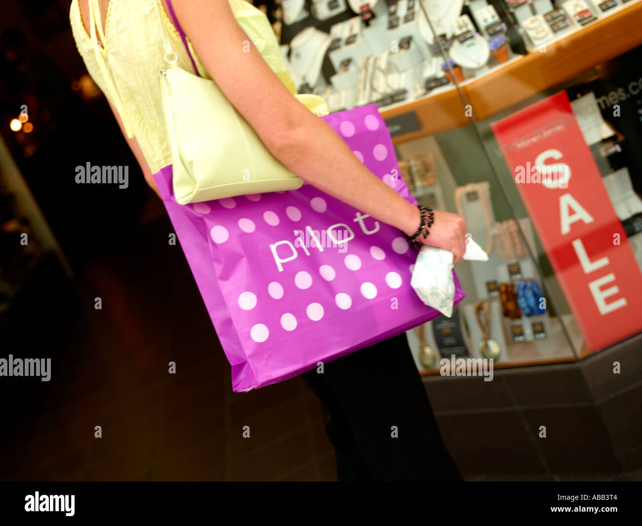 Shoppers, Shopper - Stock Image