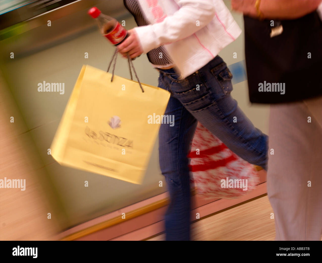 Shoppers, Shopping - Stock Image