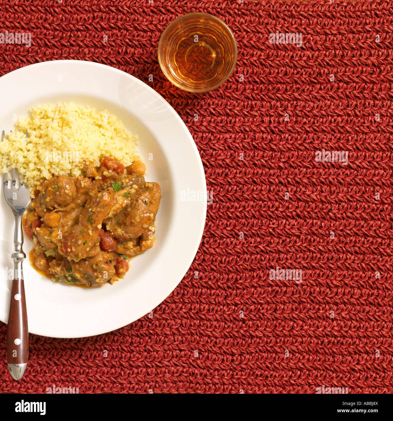 Chicken Tagine - Stock Image