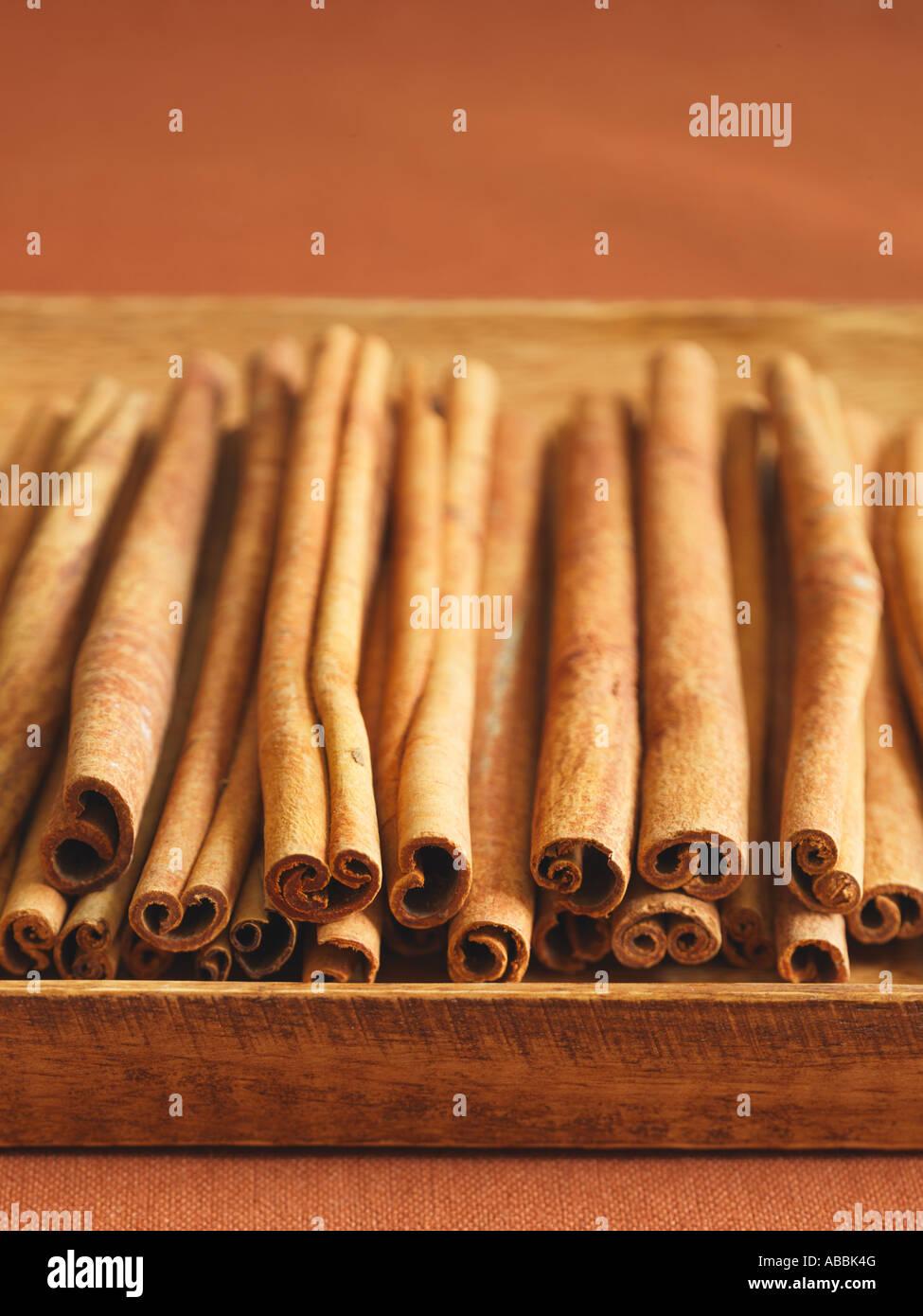 Cinnamon Sticks - Stock Image