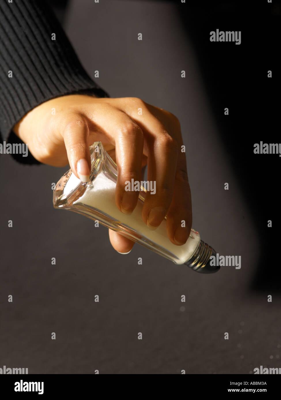 Shaking Salt Cellar - Stock Image