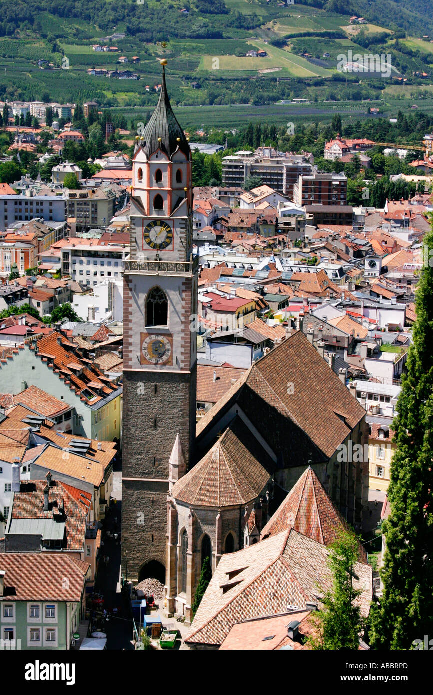 City opinion from merano - Stock Image