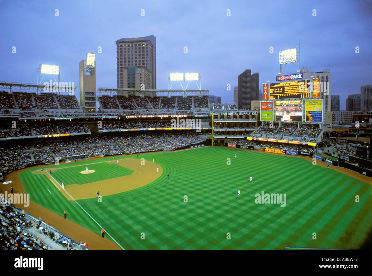 PETCO Park San Diego Padres California SD - Stock Image