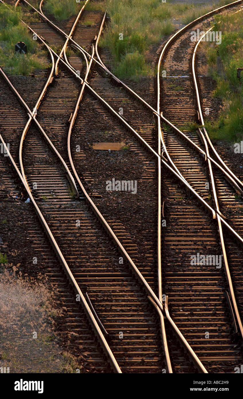 Railtracks - Stock Image