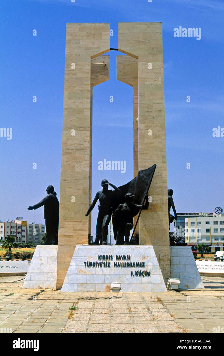 Monument, Nicosia, Northern Cyprus Stock Photo