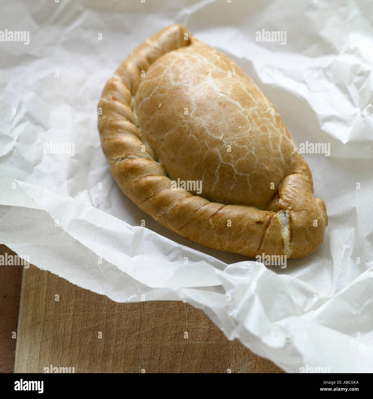 Cornish pastie - Stock Image