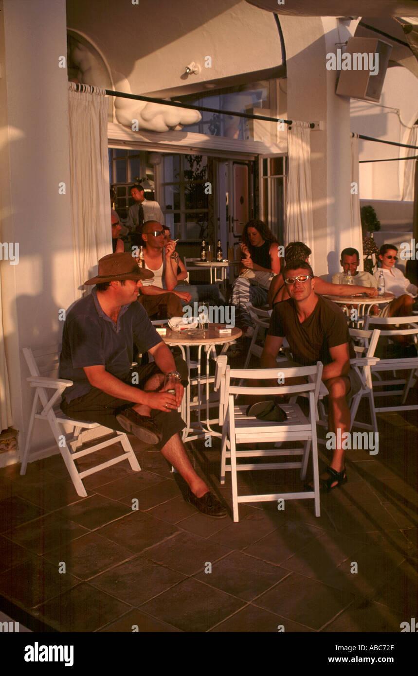 3241 Cafe Del Mar Ibiza - Stock Image