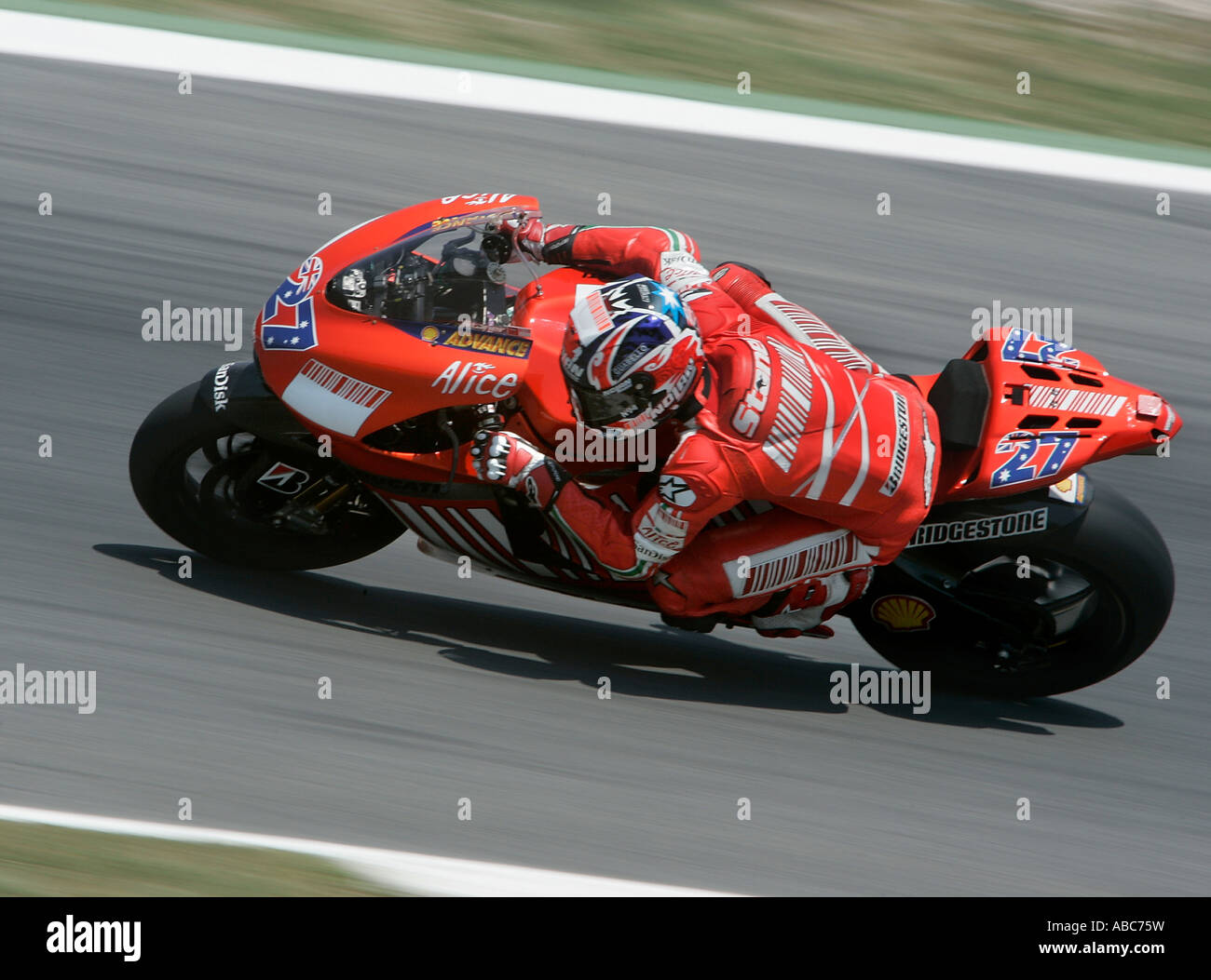 Casey Stoner Ducati Stock Photos & Casey Stoner Ducati Stock Images - Alamy