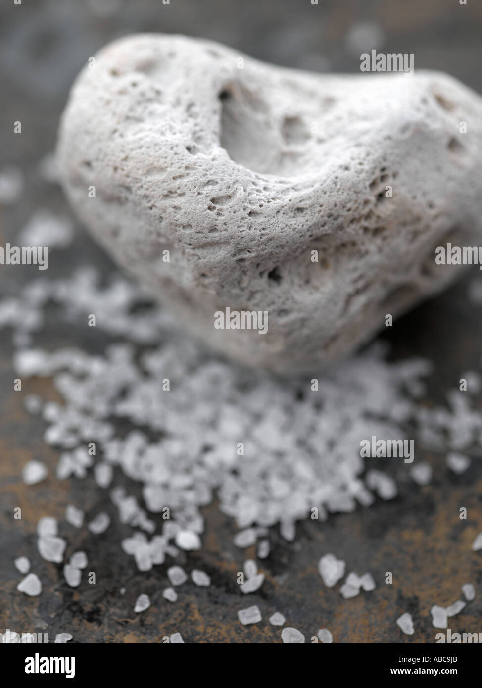Pumice and dead sea salts - high end Hasselblad 61mb digital image - Stock Image