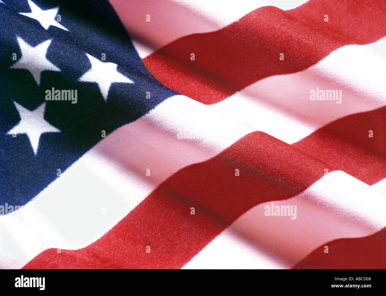 US flag - Stock Image