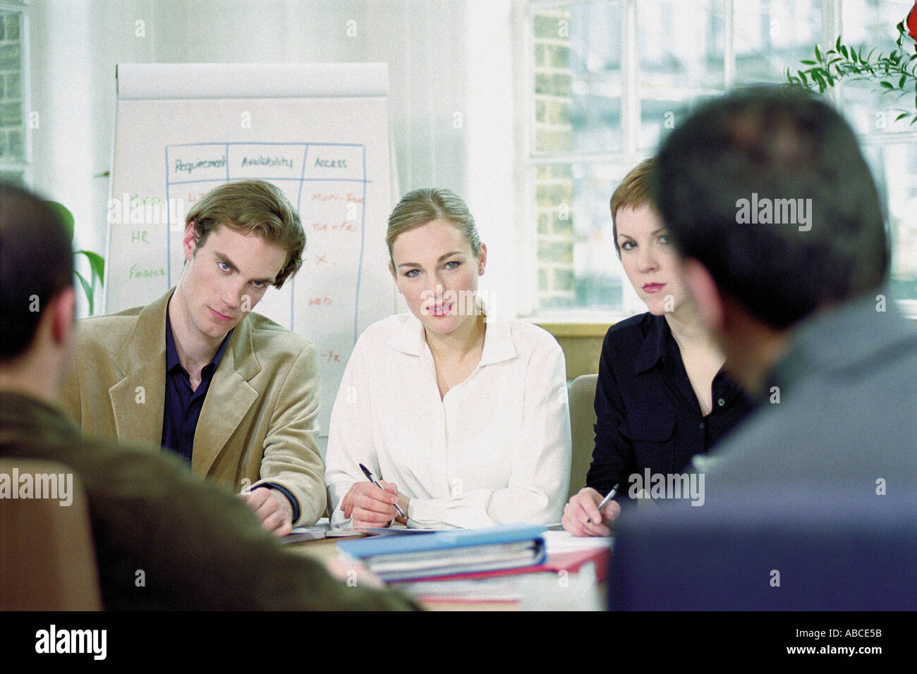 Businesspeople in office - Stock Image