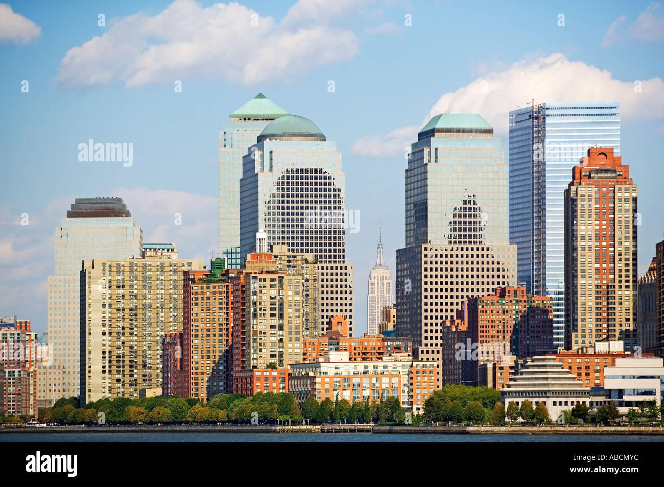 New york sky scrapers - Stock Image