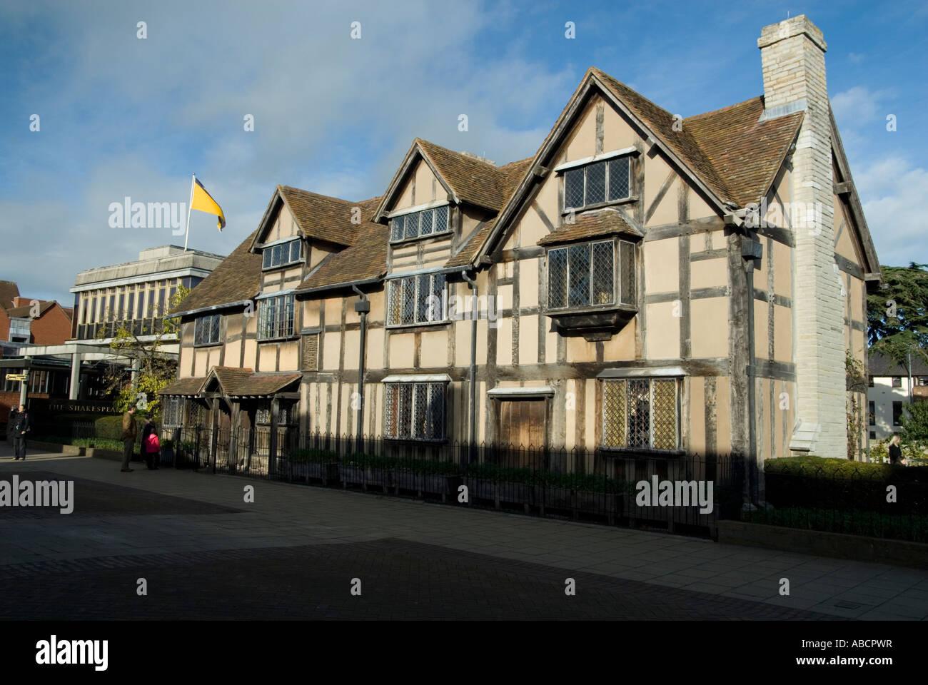 Shakespeare Birth Place In Windsor Street Stratford Upon Avon