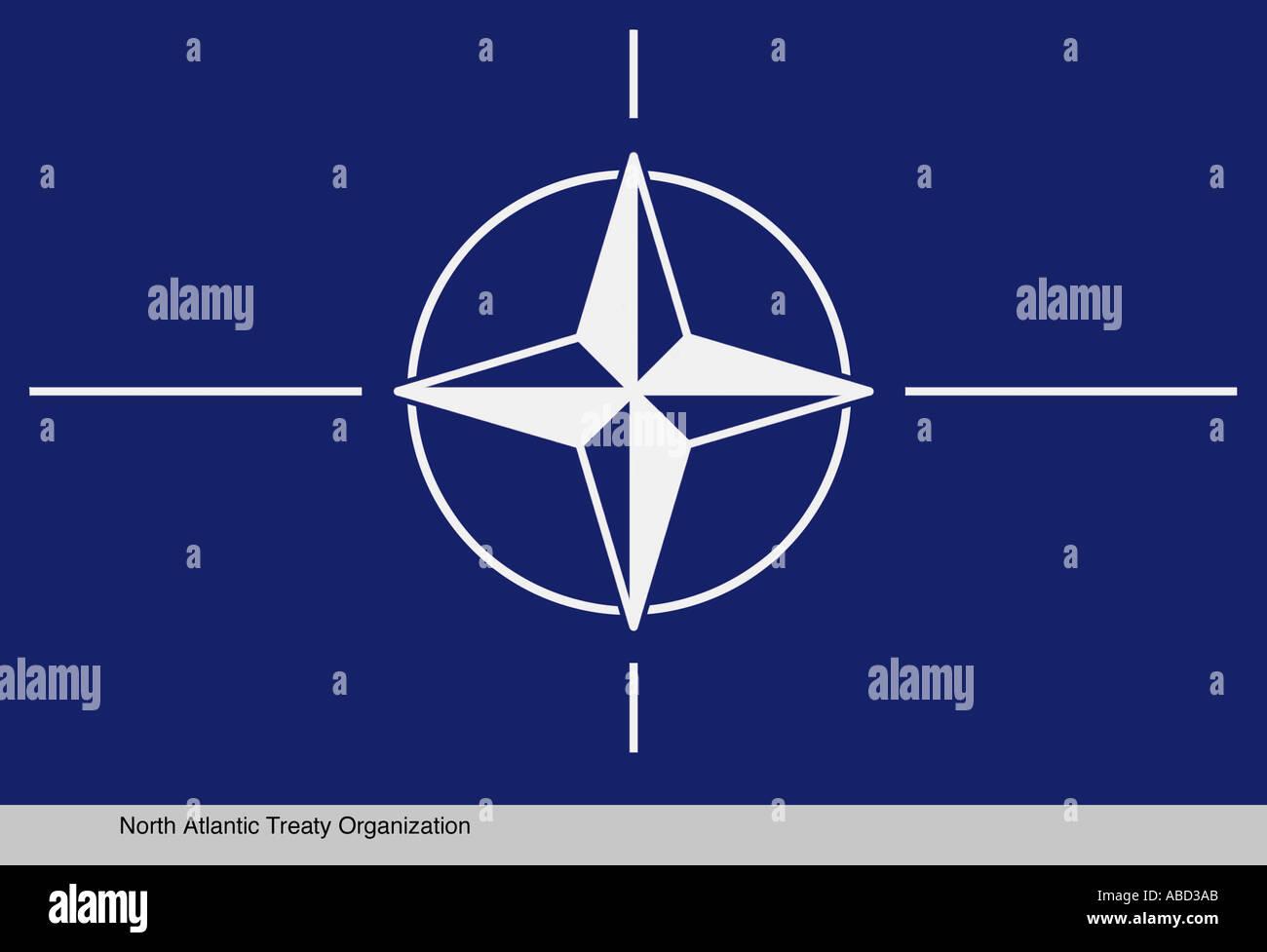North Atlantic Treaty Organization - Stock Image