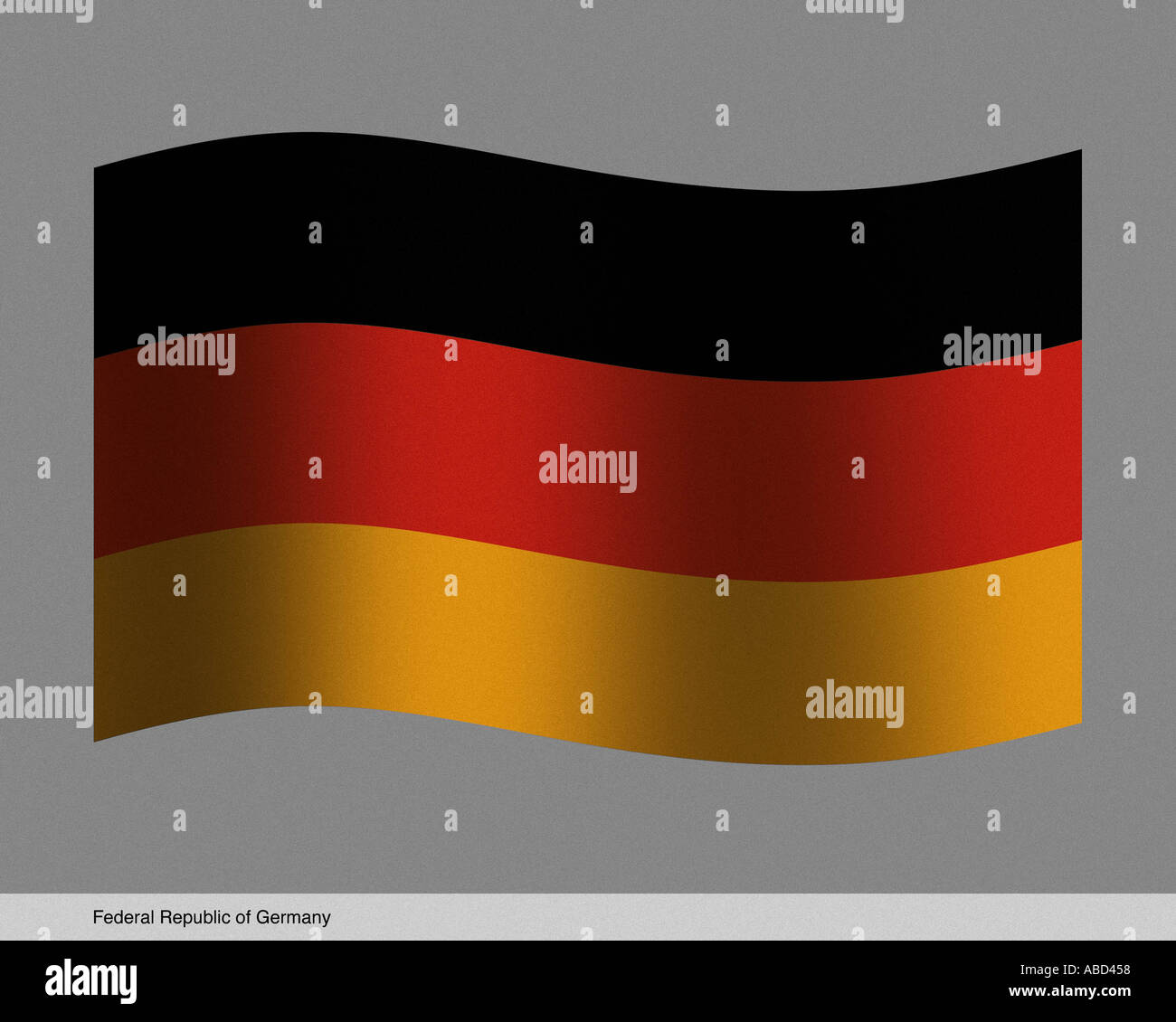 Federal Republic of Germany - Stock Image