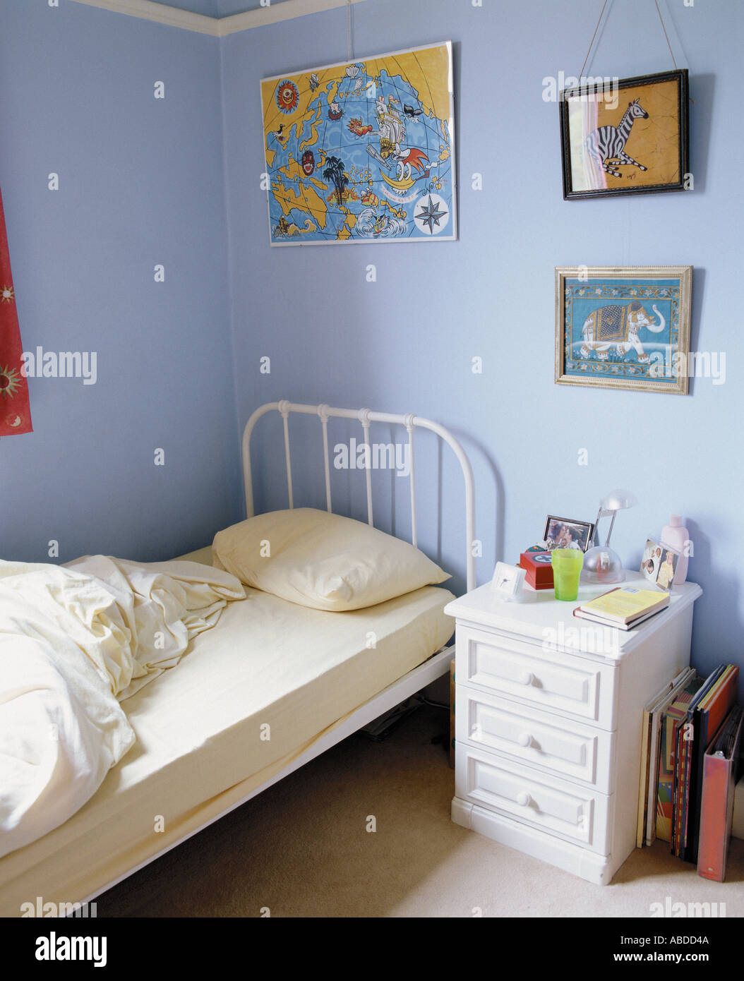 Messy Boys Bedroom Stock Photos Images