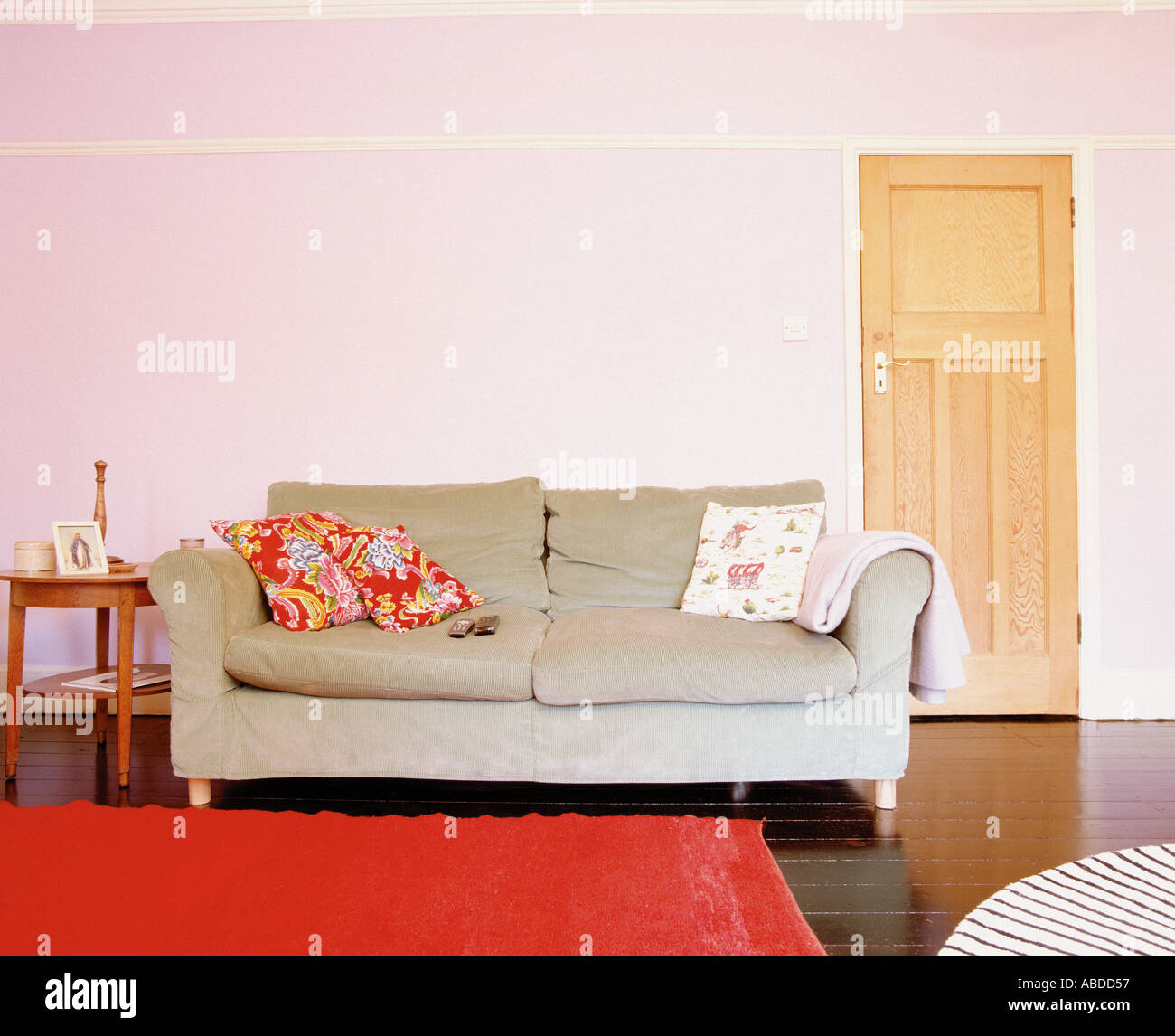 A spacious living room - Stock Image