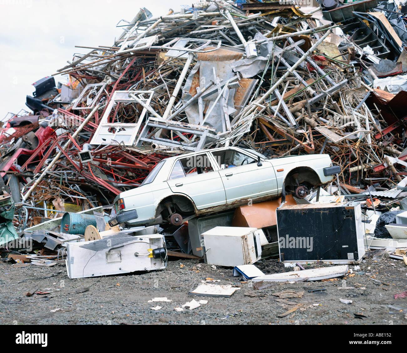 Rubbish dump - Stock Image