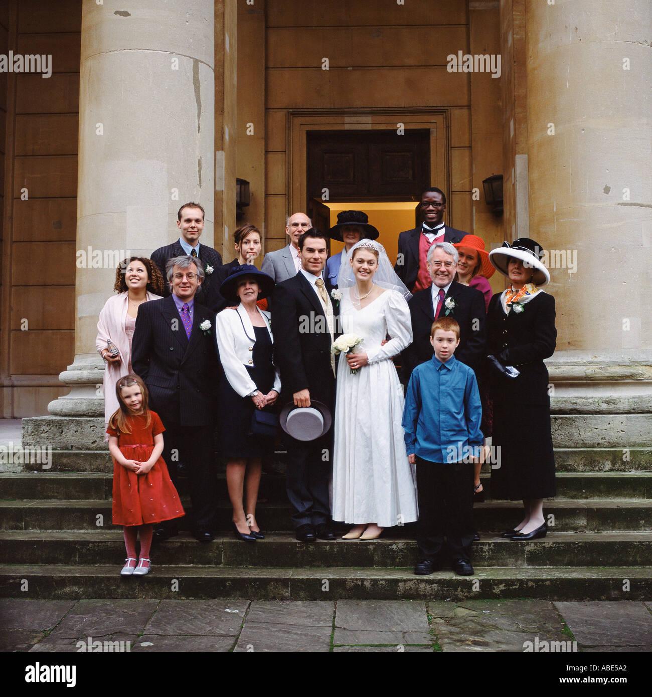 Family photograph - Stock Image