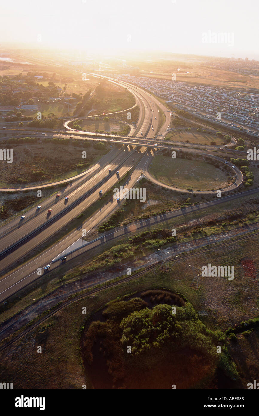 A spaghetti junction - Stock Image