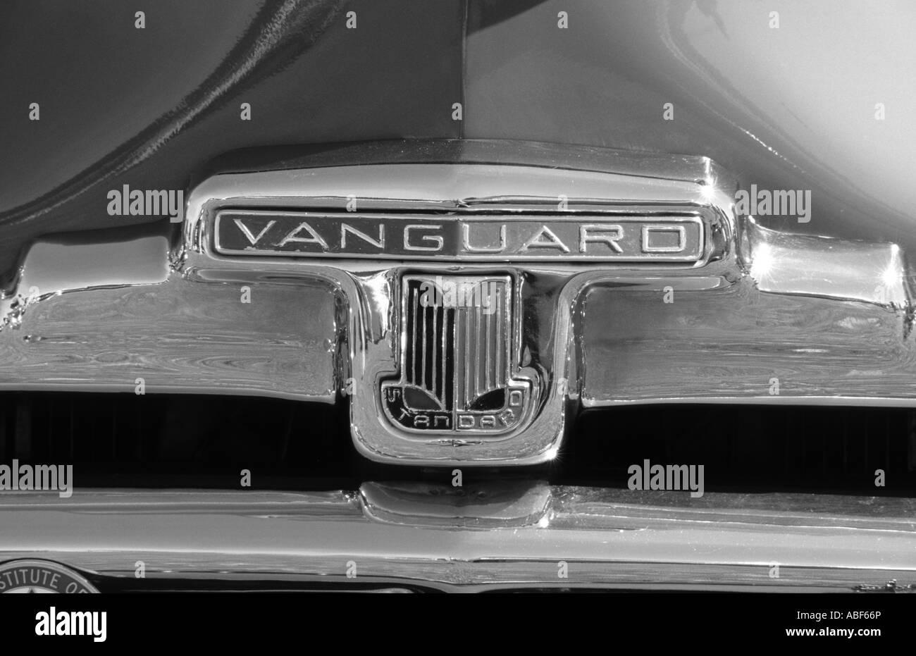 Standard Vanguard of 1952. English car manufacturer 1903 to 1963 ...