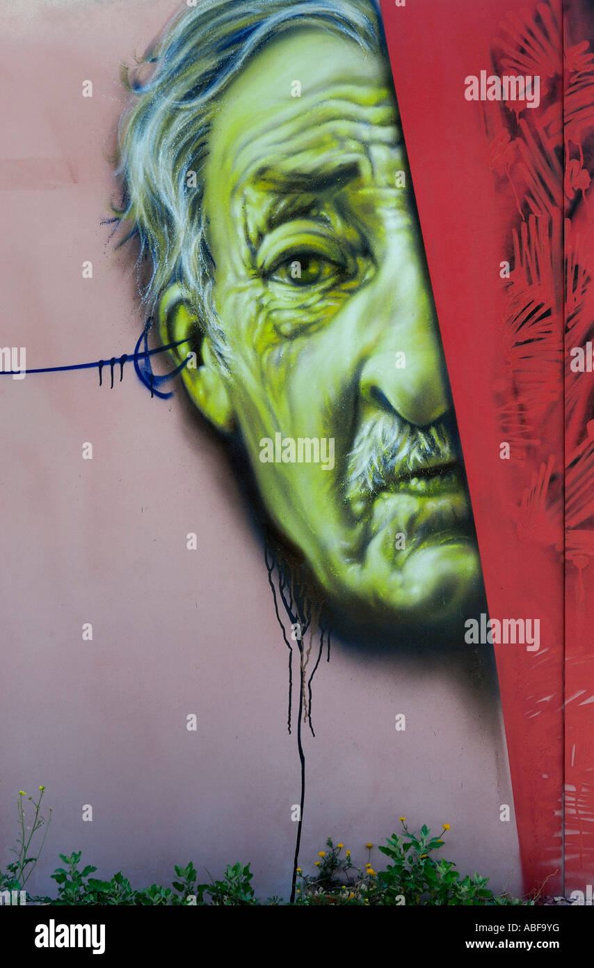 GRAFFITI ILLUSTRATION - Stock Image