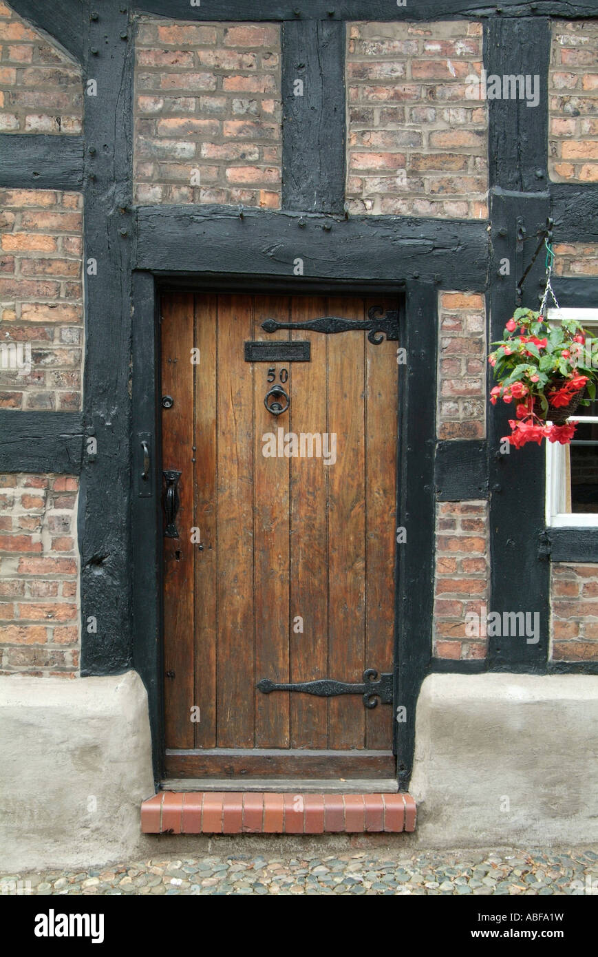 great budworth village house front doorway Northwich timber framed ...