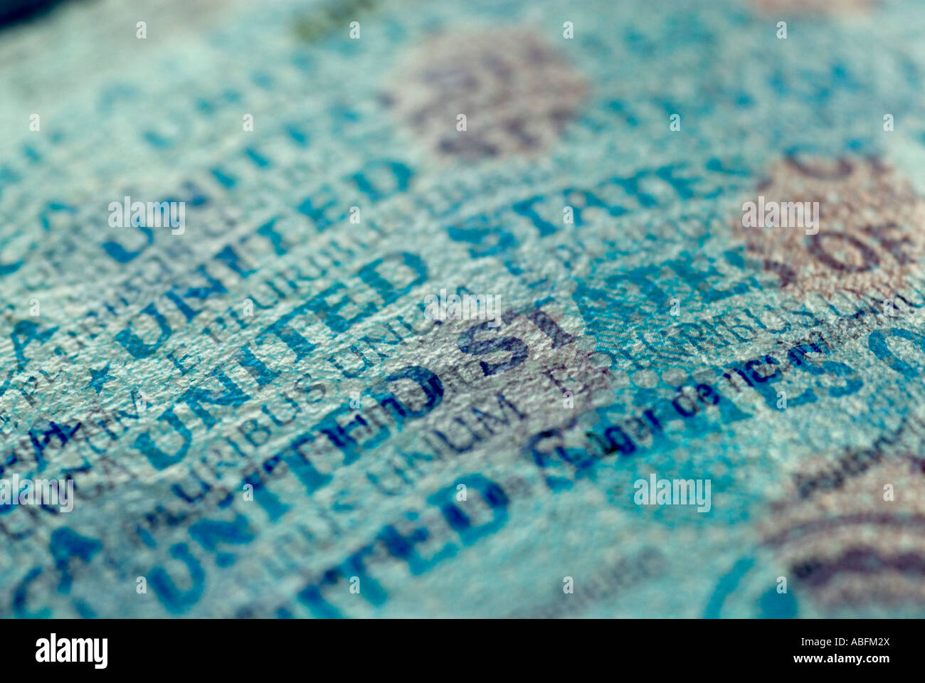 US PASSPORT - Stock Image