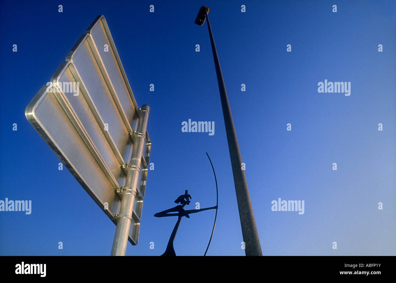 SCULPTURE IN MATARO, BARCELONA PROVINCE, CATALONIA, SPAIN - Stock Image