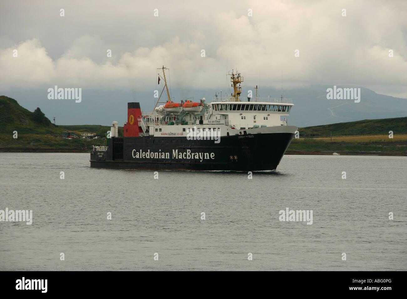 MacBraynes Ferry Oban Scotland Stock Photo