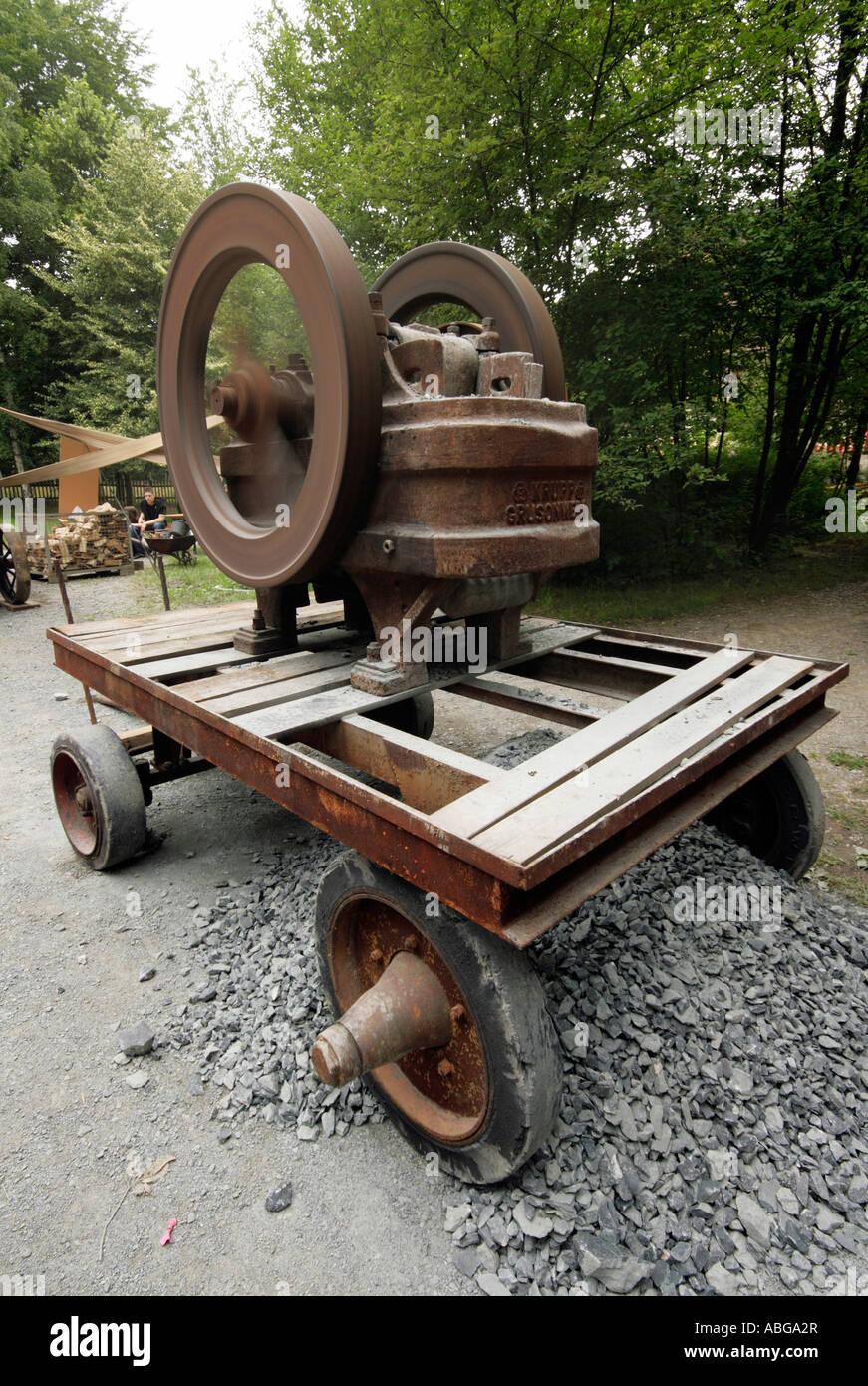 Stone crusher - Stock Image