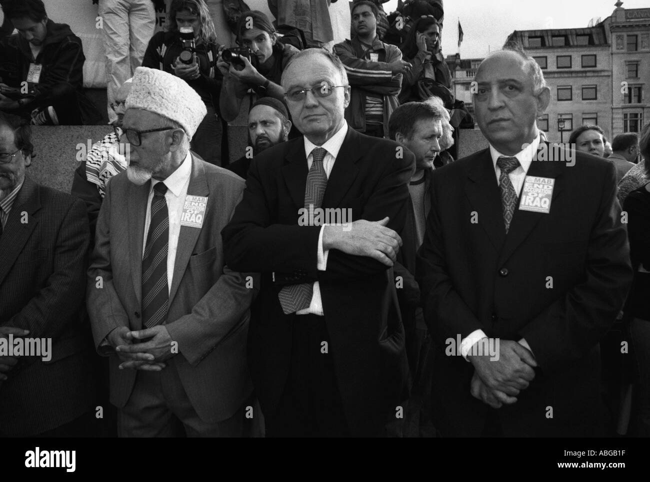 Mayor of London Ken Livingston with ethnic community lider s - Stock Image