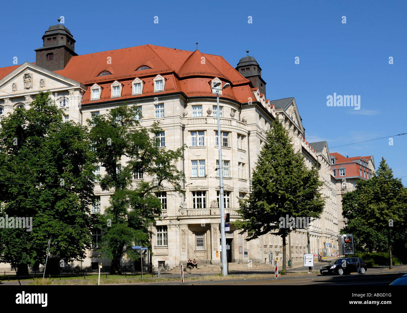 Former building of the Ministry for State Security, Leipzig, Saxony, Germany - Stock Image