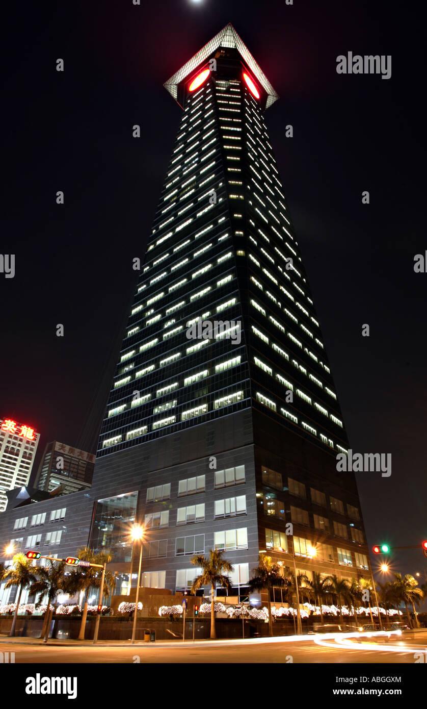 Shenzhen World Trade Centre - Stock Image