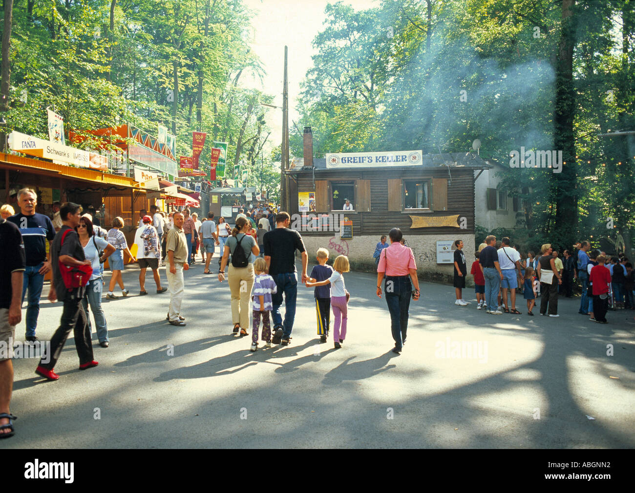 Annafest Forchheim Germany Early Evening Stock Photo Alamy