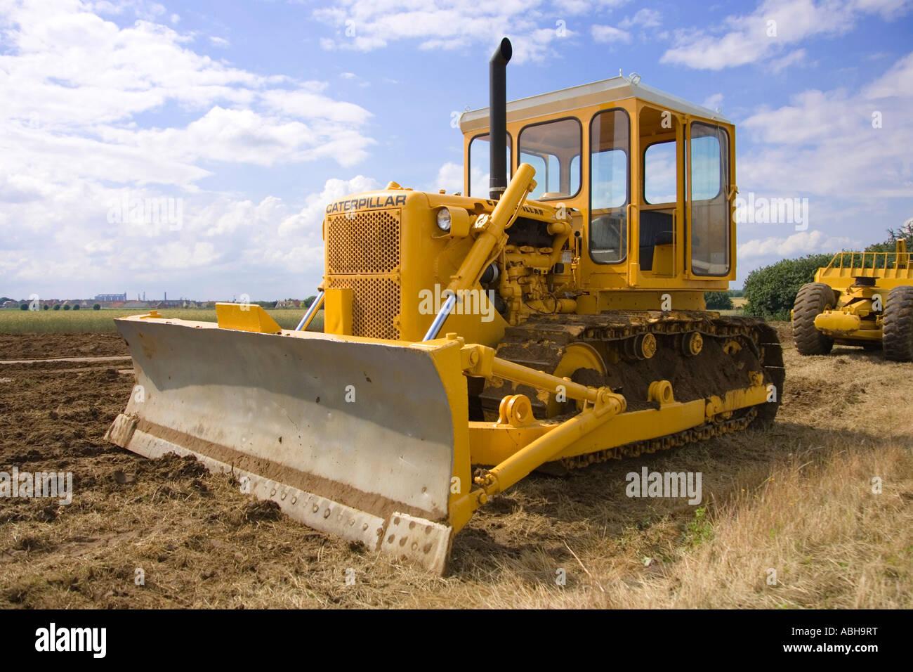Caterpiller bulldozer - Stock Image