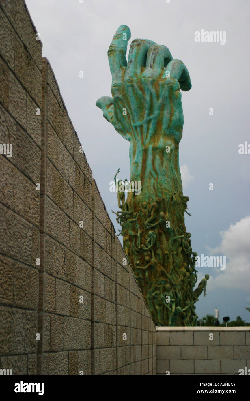 jewish memorial miami holocaust - Stock Image