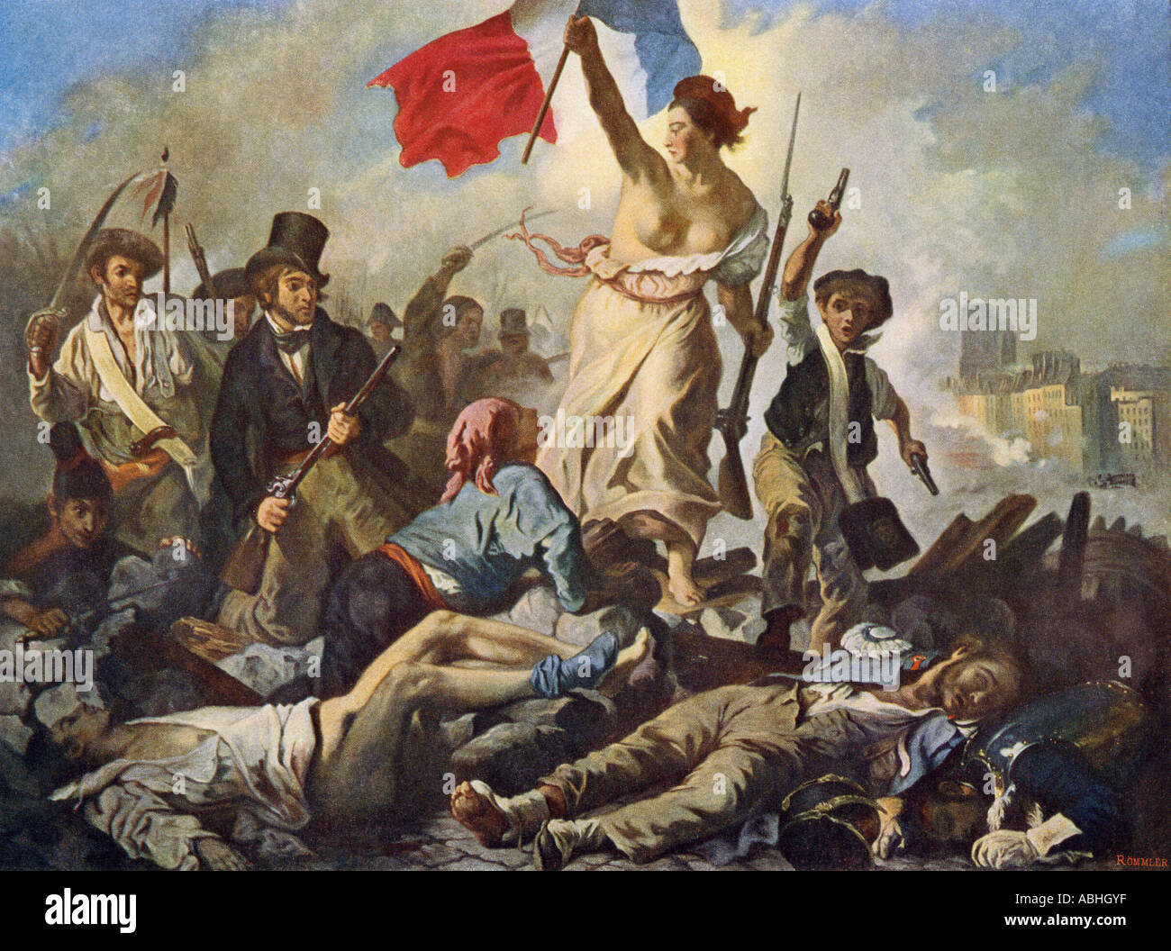 Eugene Delacroix Liberty Leading The People