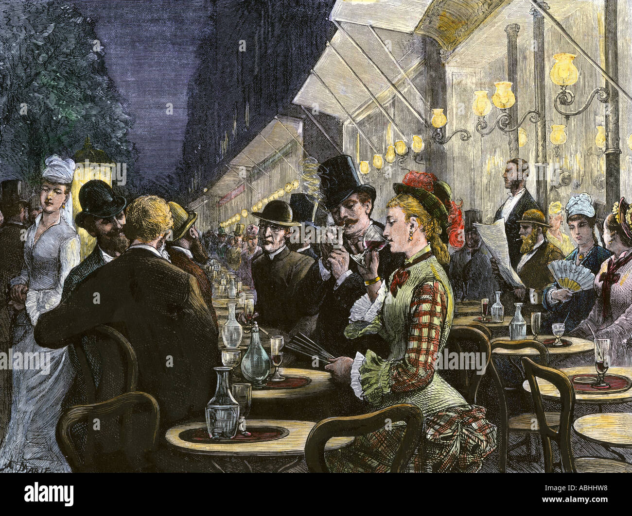 19th Century Paris Cafe High Resolution Stock Photography And Images Alamy