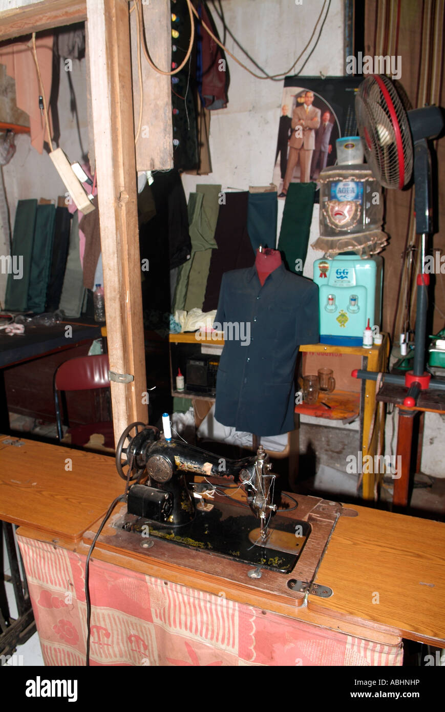 Local Market Tool >> Sewing Booth In A Local Market In Manado North Sulawesi Stock Photo