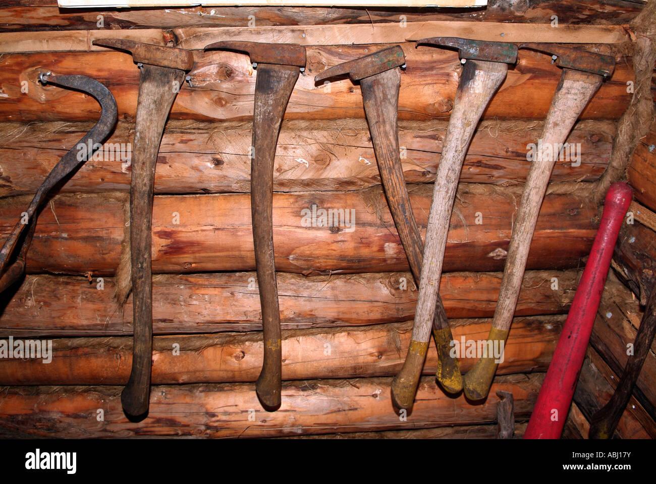 Image Is Loading Crosscut Saw Dolls House Miniature Tools Lumberjack Tool
