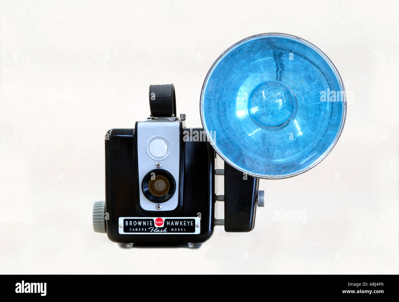 Brownie Hawkeye with flash - Stock Image