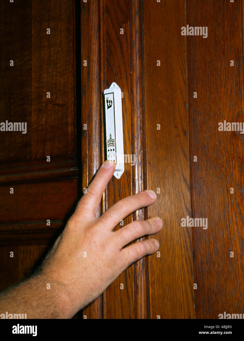 Mezuzah Stock Photos Amp Mezuzah Stock Images Alamy