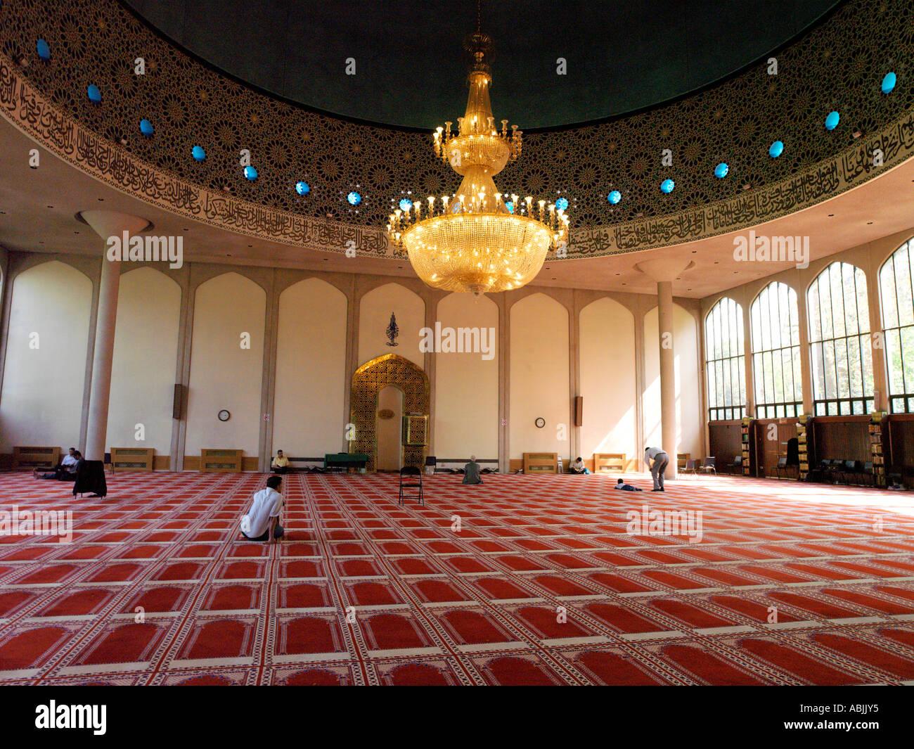 Regents Park London England London Central Mosque Stock Photo