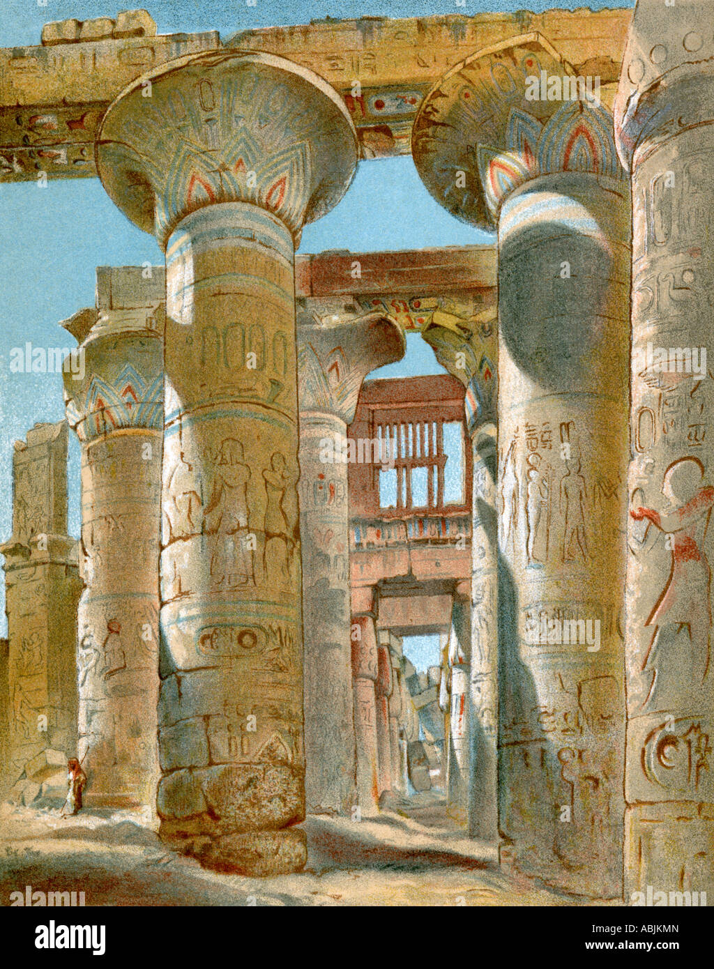 What is the architecture of ancient Egypt: a selection of sites